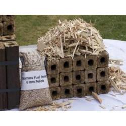 За брикетите и пелетите от биомаса